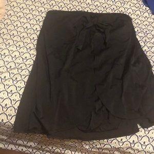 NWOT black strapless swimsuit